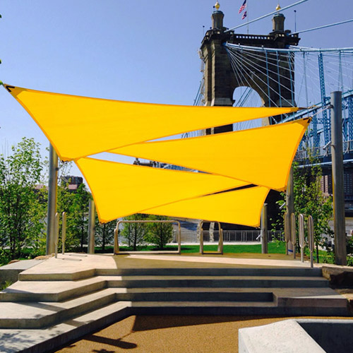 Shade Sails Product by  Queen City Awning