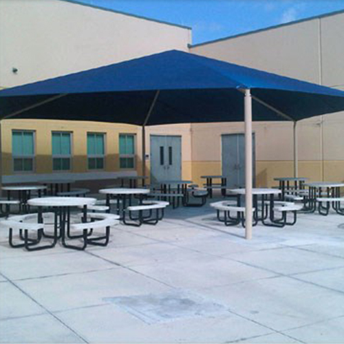 Superior Hexagonal Shade  Structure Product by  Superior Recreational   Products | Shade and  Skyspan