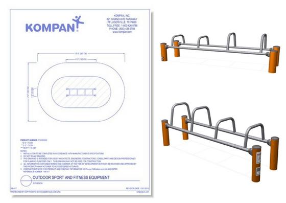 186-417 - Dip Bench