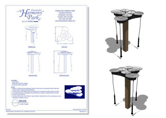 4750-026 Lilypad Cymbals