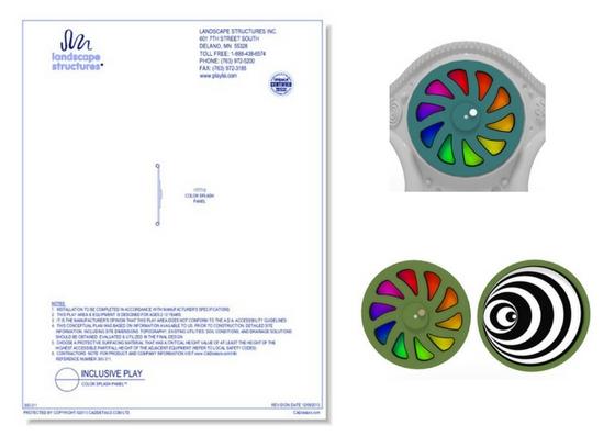 300-311 Color Splash Panel