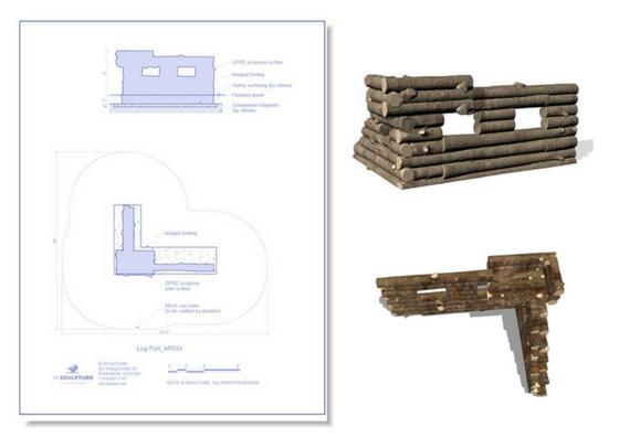 5201-047 Log Fort