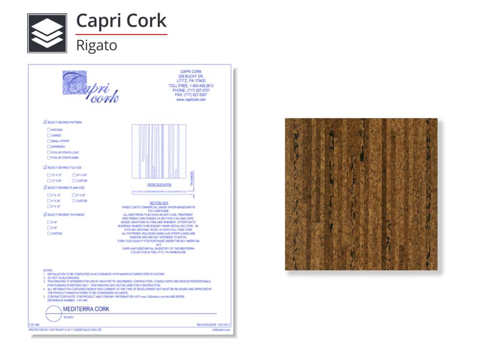 3167-088 Mediterra Cork Flooring - RIgato