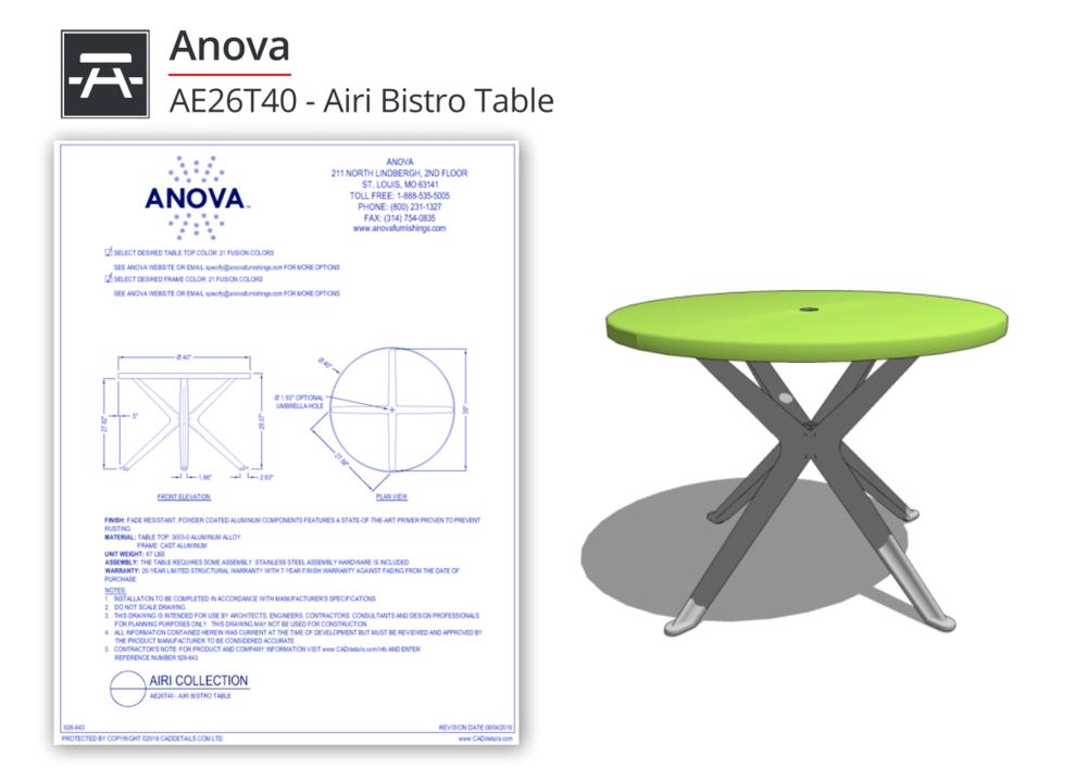 928-643 Airi Table