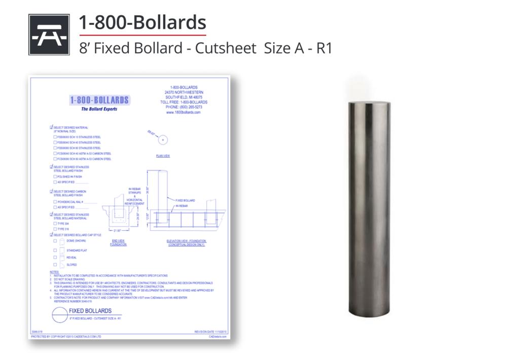 5046-019 Fixed Bollard