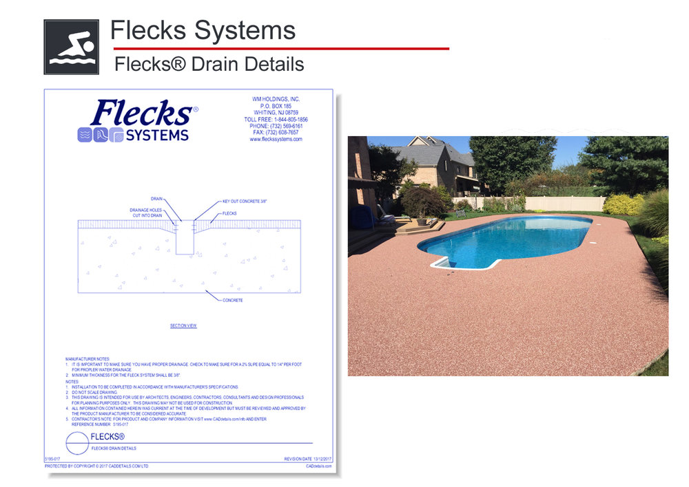 5195-017 Flecks Drain Details