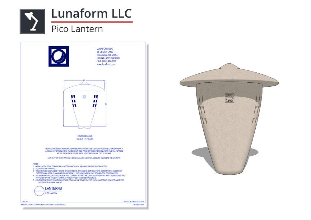 4864-107 Pico Lantern