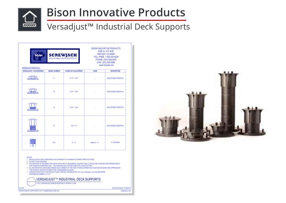512-080 Versadjust Industrial Deck Supports