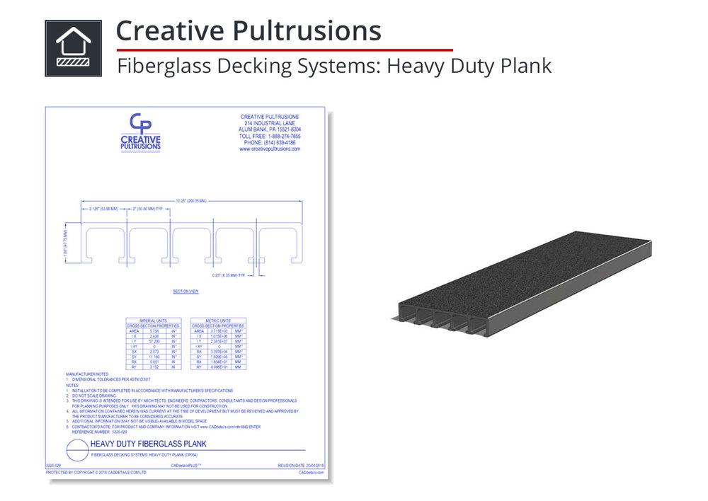 5225-029 Heavy Duty Plank