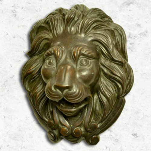 Small Bronze Lion  Fountains Unique