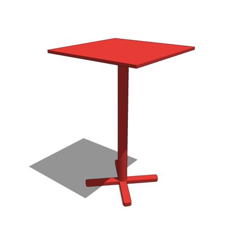 Darwin Bar Table  emuamerica