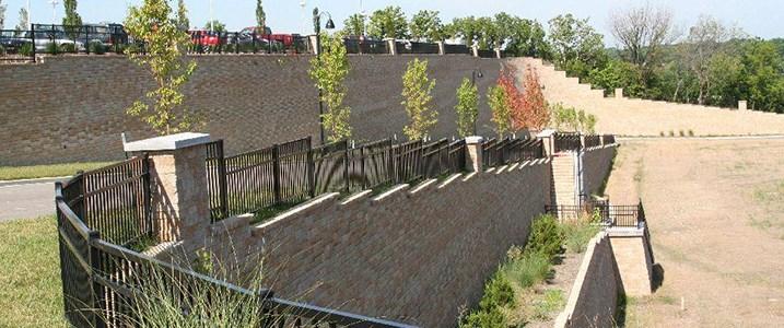 Image © VERSA-LOK Retaining Wall Systems