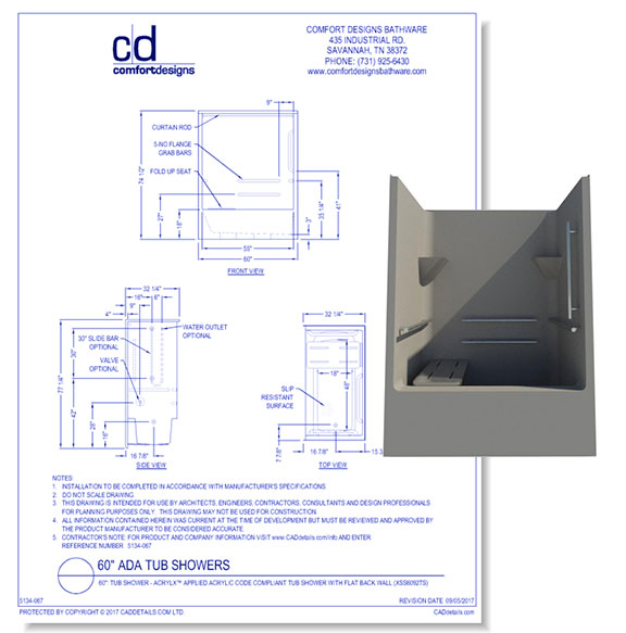 ADA Transfer Showers and Bases