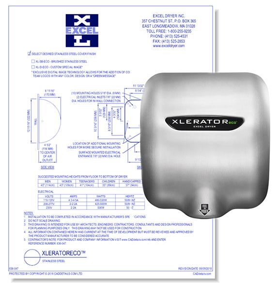 XLERATOReco Hand Dryer
