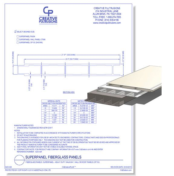 Fiberglass Panels - Superpanel FRP Panels