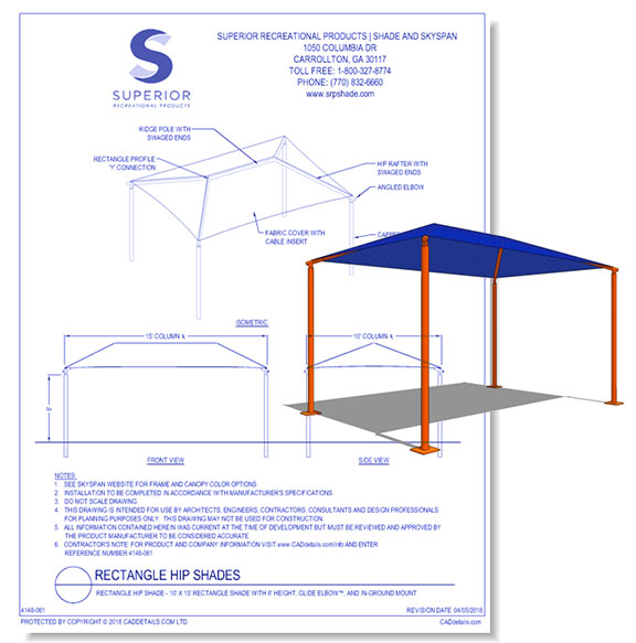 Shelters: All-Steel Square