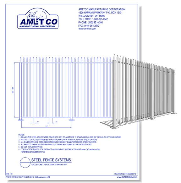 EAGLE Picket Fence