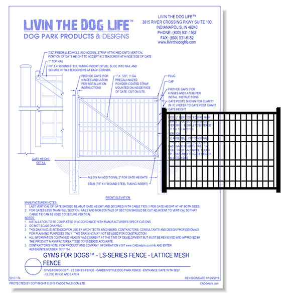 Gyms for Dogs - LS Series Fence