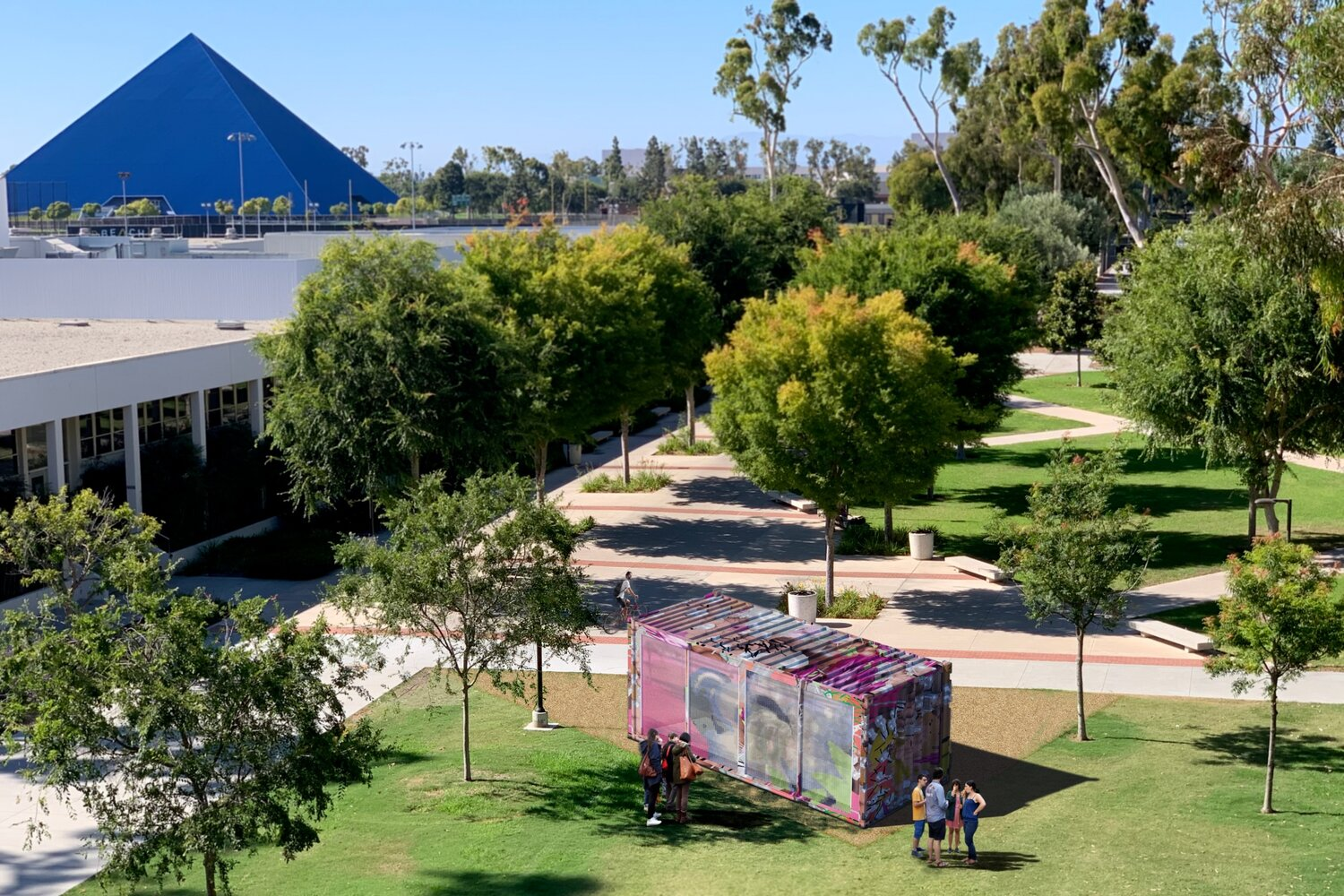Csulb 2022 Calendar.Sm Art Box Sustainable Self Cooling Design Project Comes To Cal State Long Beach In December 2020 Design Ideas For The Built World