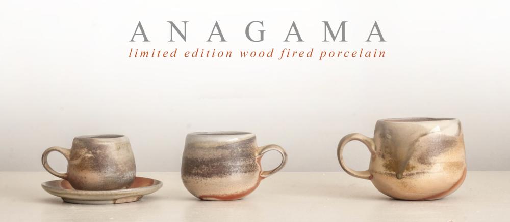 Porcelain Anagama Tableware