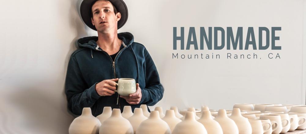 Hand made porcelain tableware