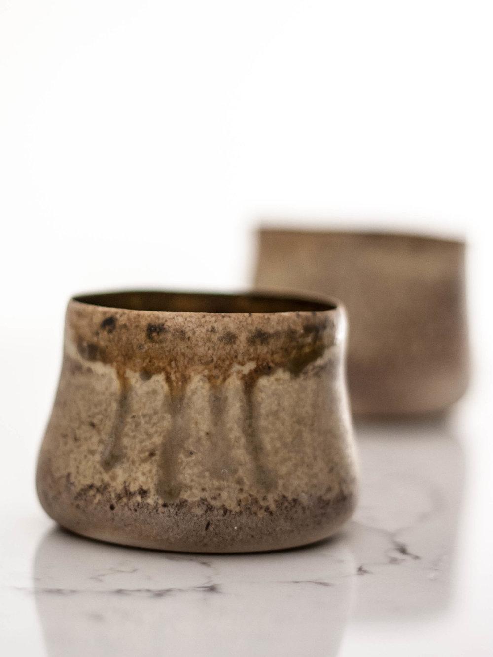 Porcelain, Wood Fired. NFS