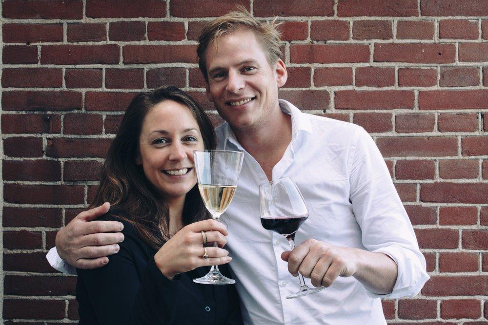 Janneke van der Leer & Justin Bultman from Chabrol Wines