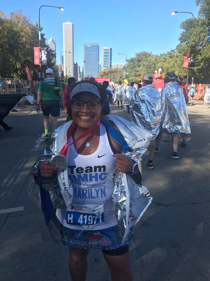 FINISHER CHICAGO 40TH MARATHON 2017