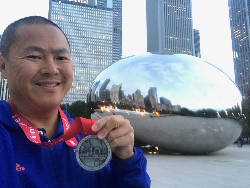 Chicago 40th Marathon 2017