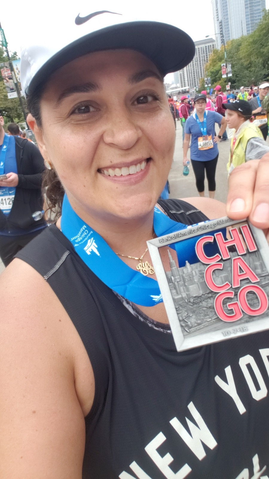 CHICAGO 2018 FINISHER 2 of 3!
