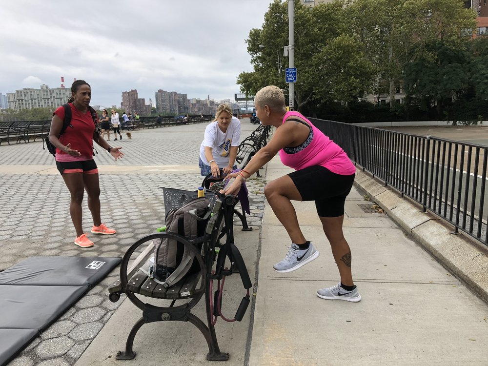 Alongside Ambassadors Ana and Yvette PRE Berlin Marathon 2018