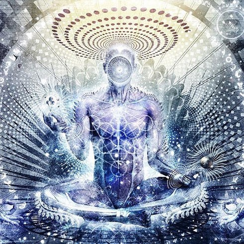 """""""When you go deep inside nothing is all there is. There is no 'I am'. The 'I am' merges in the Absolute."""" ― Nisargadatta Maharaj ⠀ ⠀ Art: Cameron Gray ॐ  #realityisnotwhatyouthinkitis #nondual #ancientwisdom #liberation #selfrealization #ascension #thesupremeabsolute #enlightenment #awakening #healing #magictribe"""