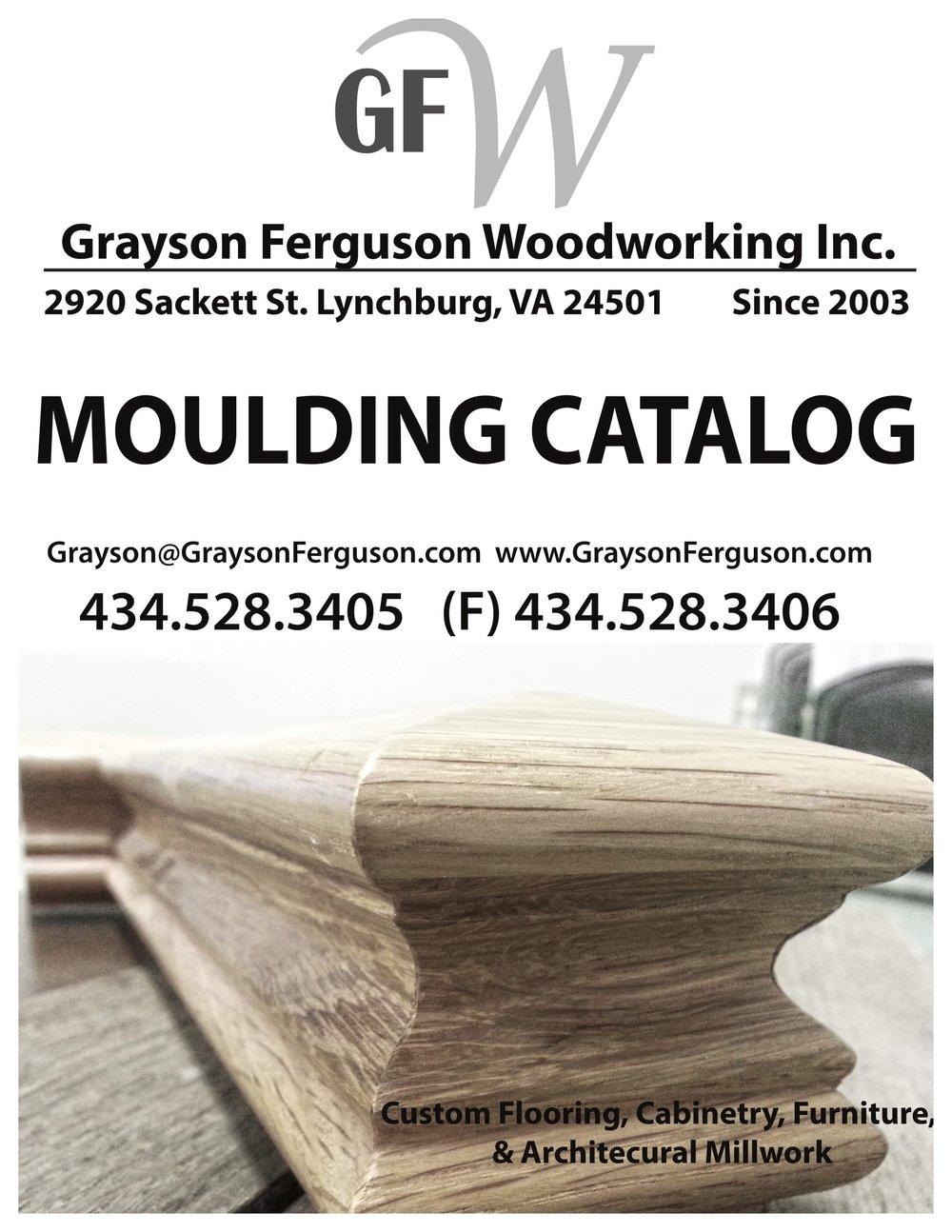 Moulding Catalog — Grayson Ferguson Woodworking