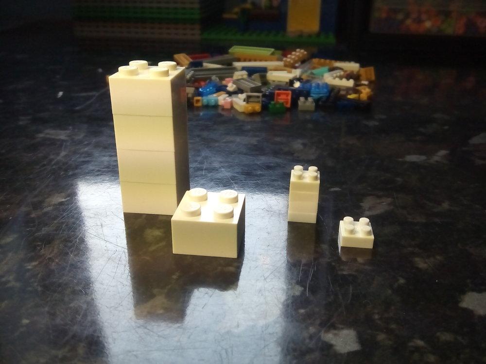 Lego-Nanoblock comparison