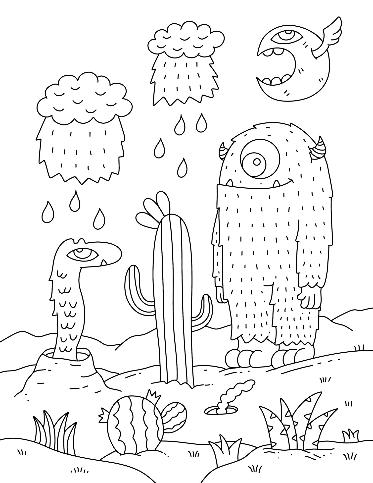 Free coloring pages about family that you can print out for your ... | 1941x1500