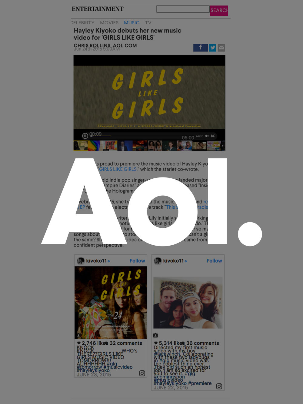 Girls Like Girls - AOL