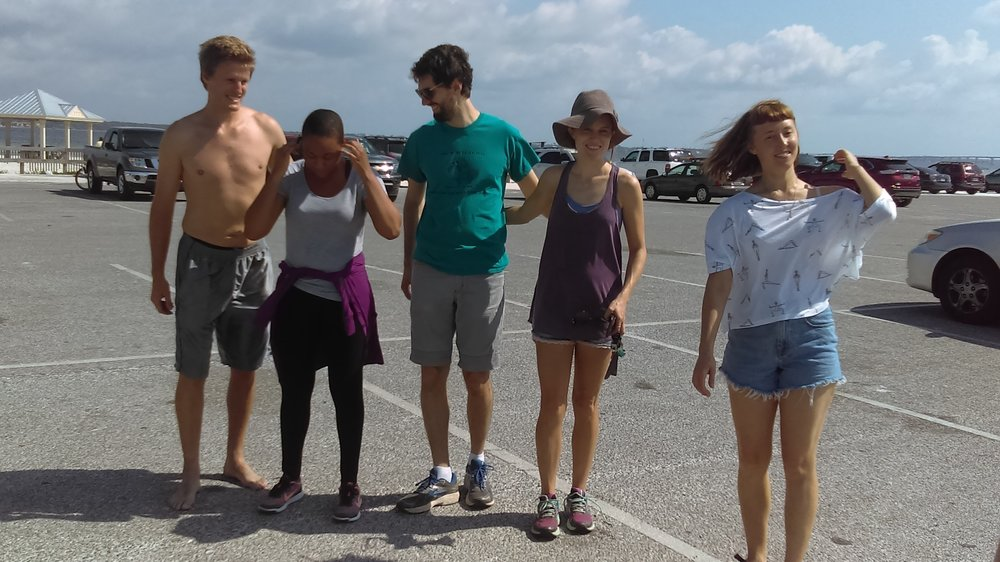 First time Ocean Hour FL collaborated with an underwater cleanup (420 lbs!) at Ft. Pickens plus 5 tires weighing 160 lbs. Thanks to 3rd Coast Divers and DivePros for doing the heavy lifting and cleaning around the pier. Total for the four sites on the island was 554 lbs.