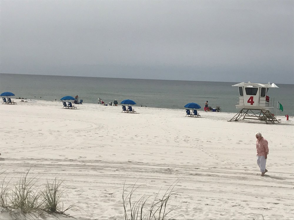 Wow! Escambia County Public Works did a great job cleaning up the beach! 8 OceanHourFL volunteers picked up 45 lbs of cig butts and plastic straws at Casino Beach and Park West