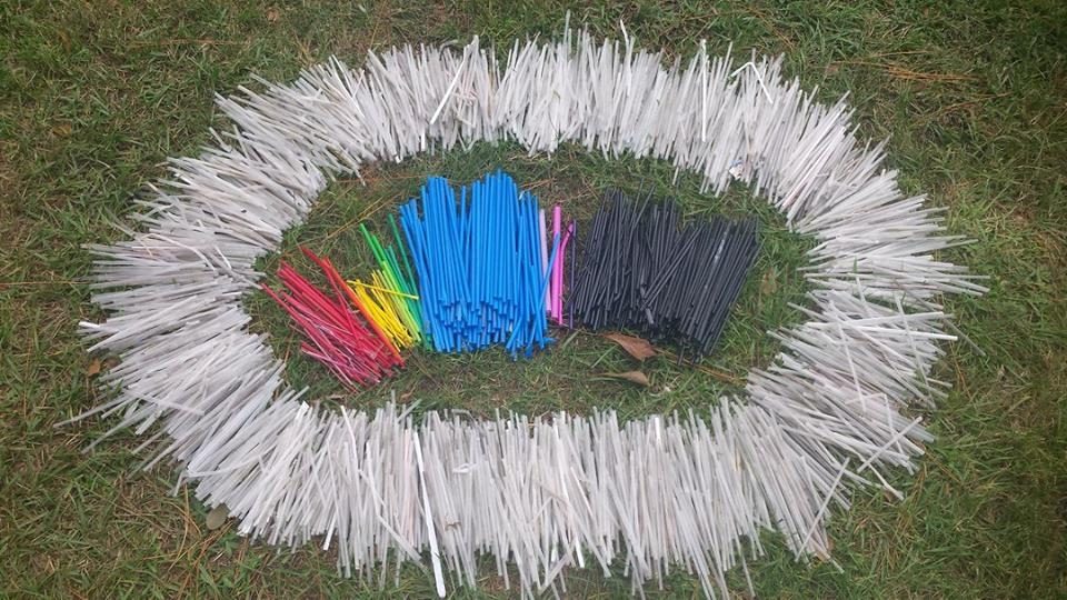 2204 straws were part of the 119 lbs of trash picked up at Quietwater Beach. More info to follow