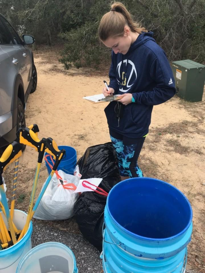- The locations were two at Naval Live Oaks, Bob Sikes Bridge and on Avalon Blvd. in Milton. Thanks to the 47 volunteers including GBHS Marine Science Club