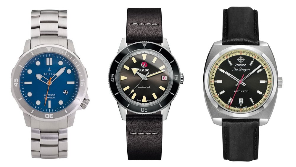 10 Watches You Can Wear to the Office and the Beach [Men's Journal] - It's summertimeOpens a New Window. again—unless you live in Australia—and beach-chic timepieces are back in style. While you may not always have the means to escape the office for the beachOpens a New Window., there's no harm in at least giving the impression you'd be ready to swap out your business suit for a swimsuit if need be. [READ MORE]