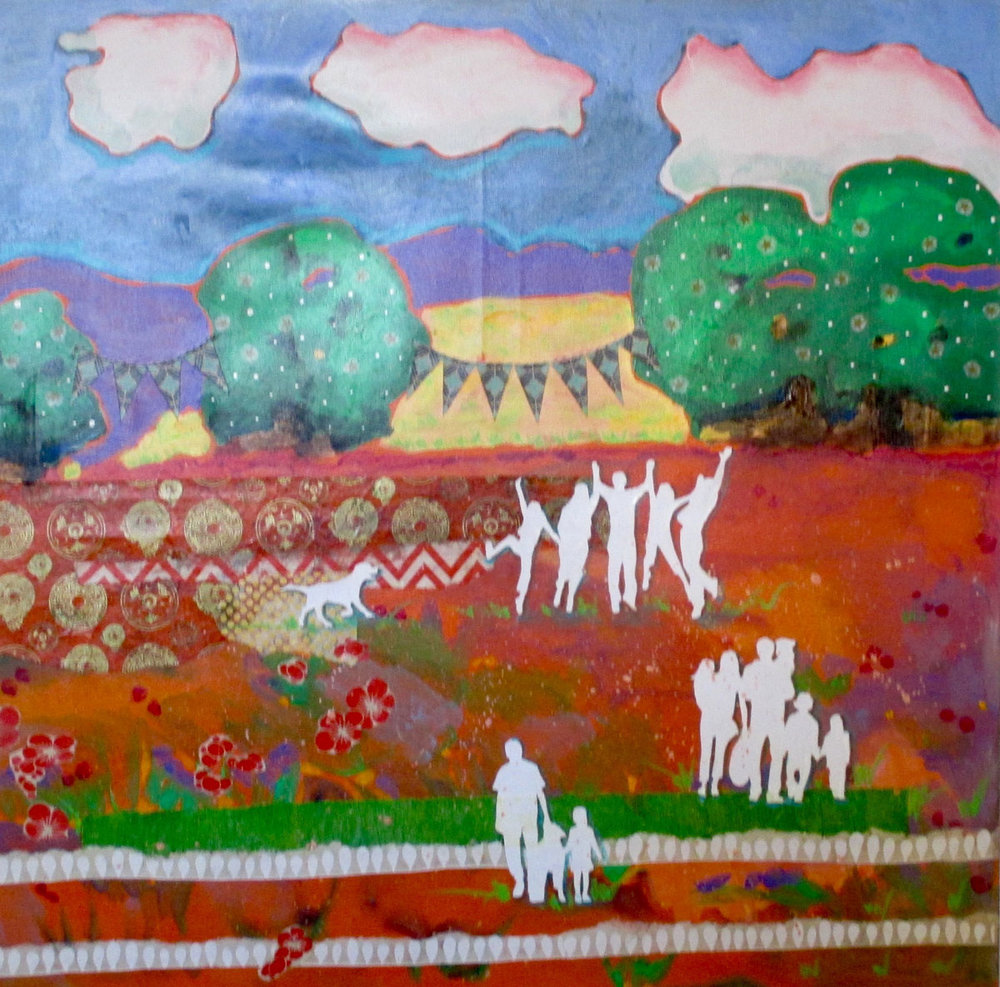 """Family""   Original Art by Claudia Stubstad"