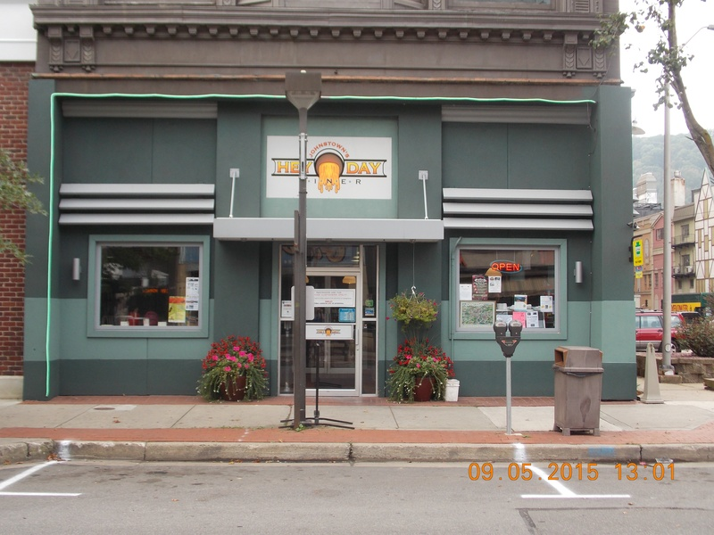 526 Main St. Johnstown 15901 - REDUCED Asking $59,000 w/ Eqip. - The Hey Day Diner