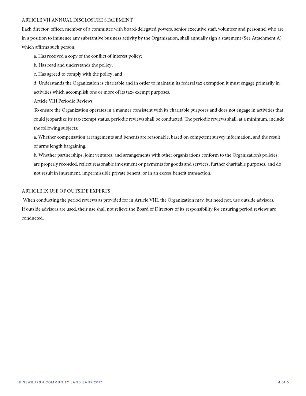 Conflict of interest policy template conflict of interest letter of interest policy expense template pronofoot35fo Images
