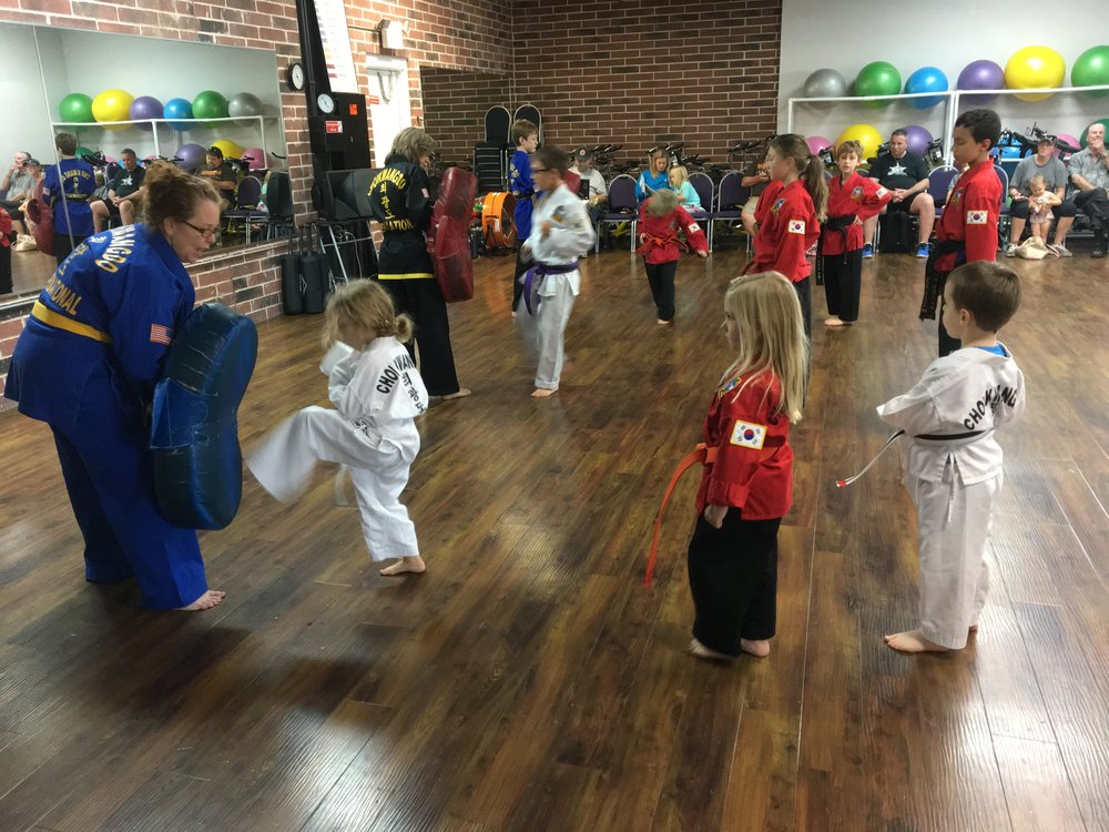 STATE OF THE ART CHILDREN'S CLASSES THAT HELPS THEM: - Learn self defense skills - Build confidence and self esteem - Develop positive mental attitude - Improve coordination, balance, flexibility and strength