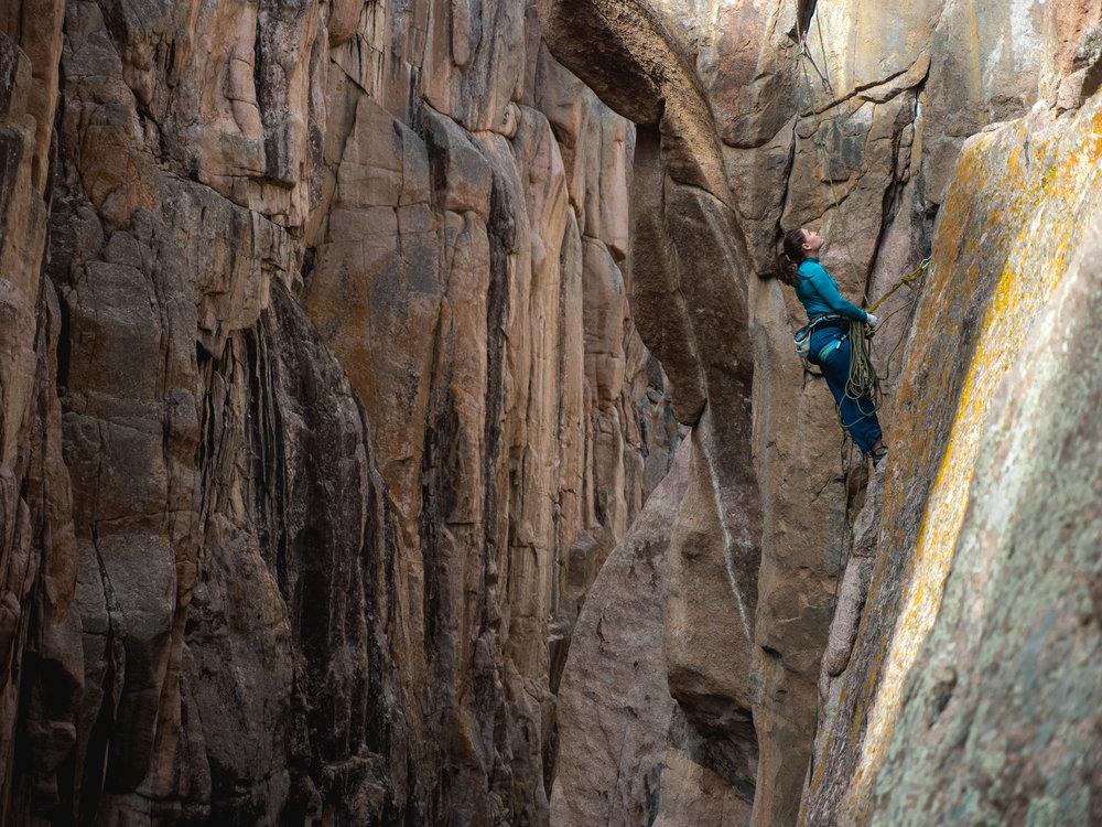 Fremont Canyon Belay