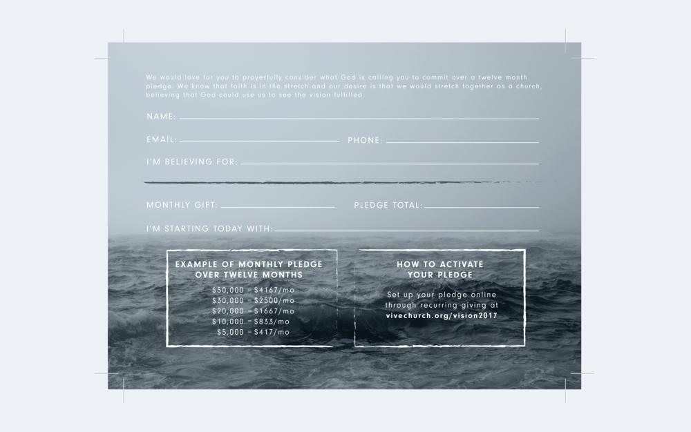 Pledge Card (back)