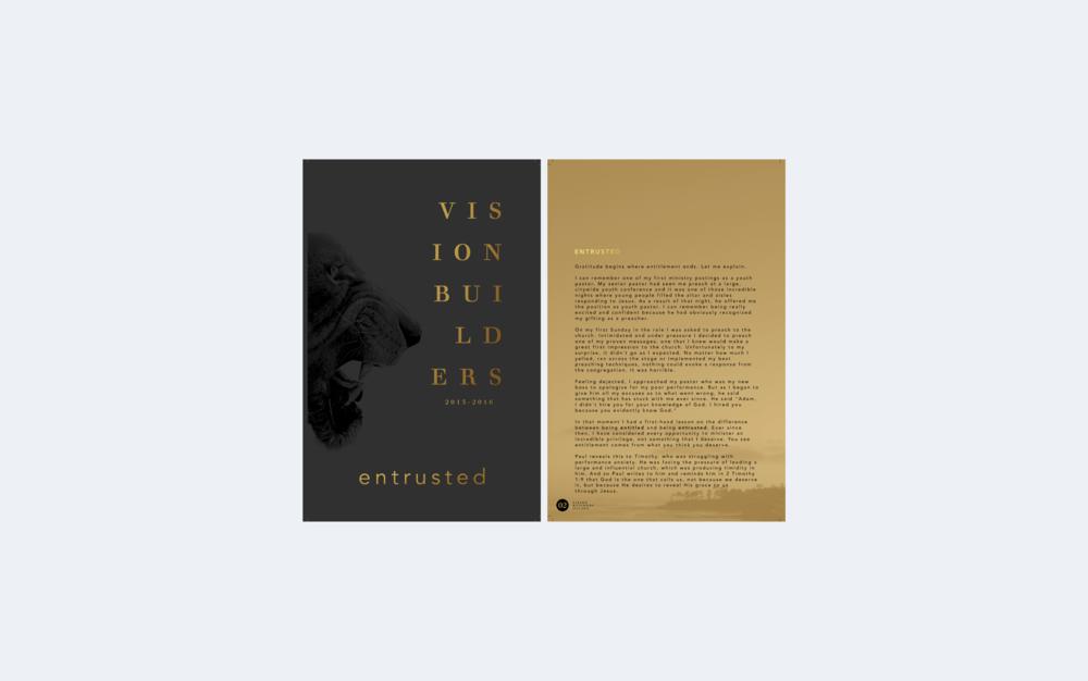Vision Booklet