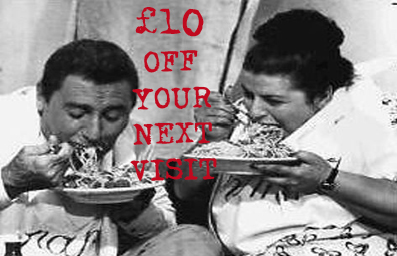 Sign up & receive £10 off your next visit -