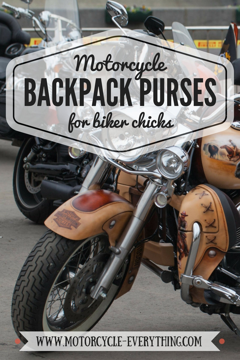 ladies backpack purses for women motorcycle riders